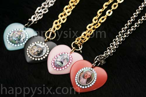 Tarina Tarantino Heart Pendant Necklaces