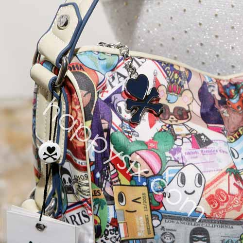 tokidoki Ramblers Zipper Pull and Details