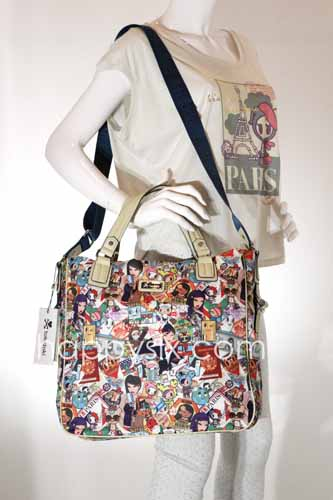tokidoki Ramblers Tall Shopping Bag