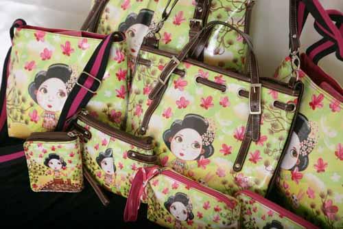 Tookata People Geisha Lime Collection