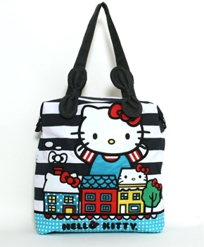 Kitty City Tote Bag
