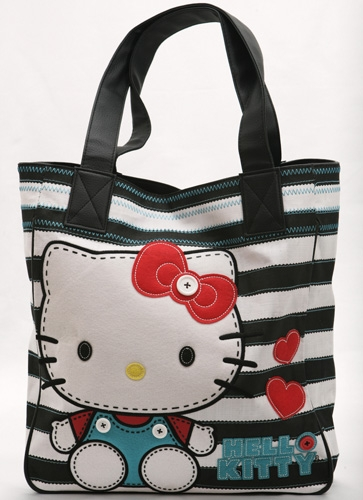 Stitched Doll Tote Bag