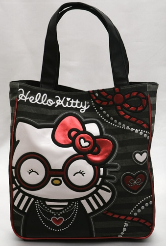 Round Glasses Tote Bag