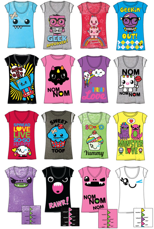 So So Happy Monster Shirts