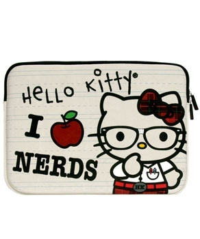"Hello Kitty Nerd 13"" Macbook and 13"" Macbook Pro Sleeve"