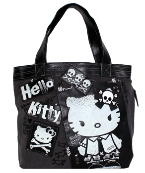 Hello Kitty Punk Rocker Tote Bag