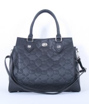 Hello Kitty Embossed Satchel Handbag