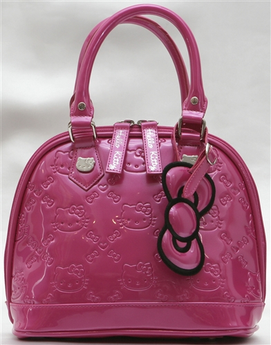 Hello Kitty MINI Patent Embossed Handbag