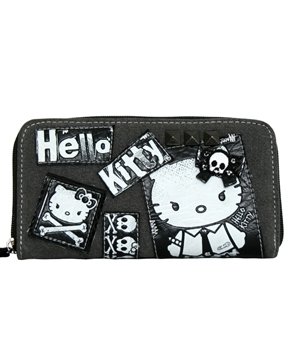 Hello Kitty Angry Punk Wallet