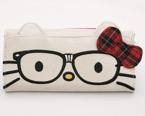 Hello Kitty Nerds Face Wallet