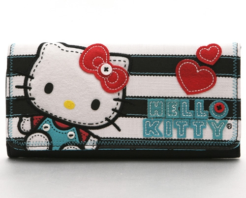 Hello Kitty Stitched Doll Wallet
