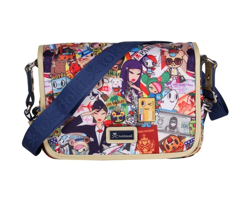 Tokidoki Ramblers Small Messenger Bag