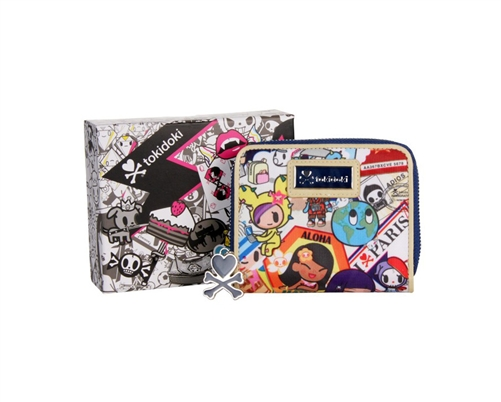Tokidoki Ramblers Small Flap Zip Wallet
