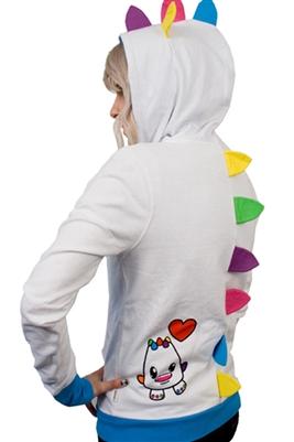 So So Happy monster hoodie