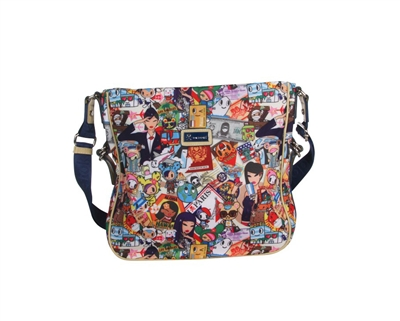 Tokidoki Ramblers large crossbody bag
