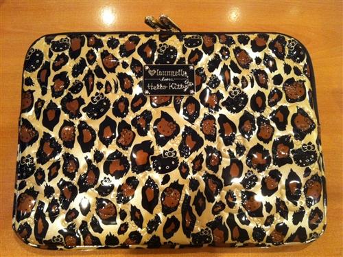 Leopard Print Hello Kitty Laptop Case